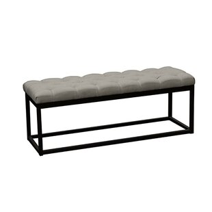 Tegan Button Tufted Upholstered Bench