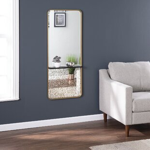 Radmill Contemporary with Shelf Wall Mounted Mirror by Everly Quinn