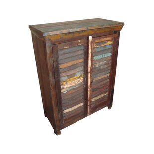 2 Door Reclaimed Stand Accent Cabinet by Privilege