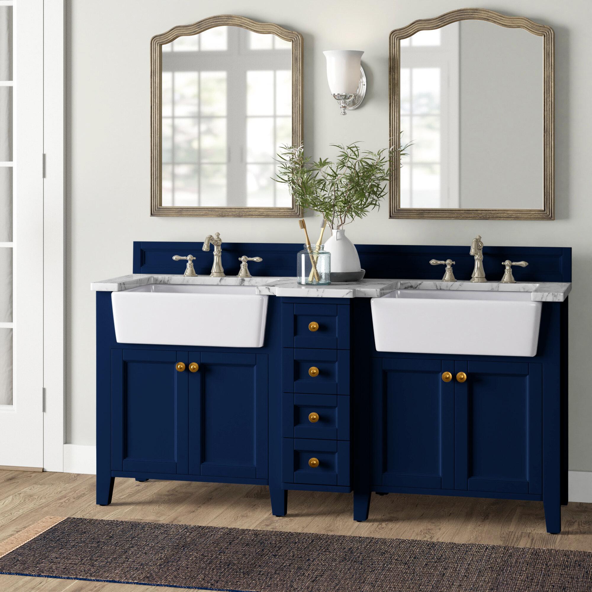 Birch Lane Diep 60 Double Bathroom Vanity Set Reviews Wayfair