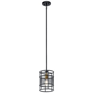 Williston Forge Sayers 1-Light Cylinder Pendant
