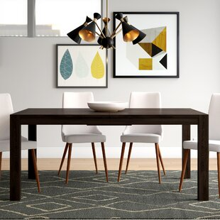Sirena Expanded Dining Table Brayden Studio