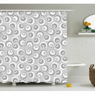 Shyanne Abstract Art Modern Single Shower Curtain