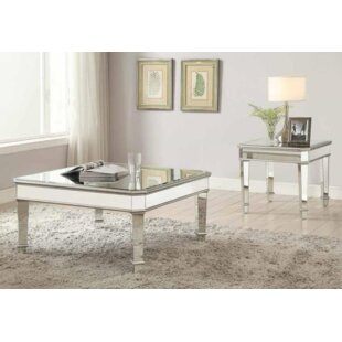 Rosdorf Park Claremont 2 Piece Coffee Table Set