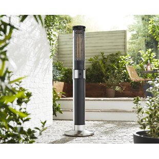 Column Electric Patio Heater by Swan