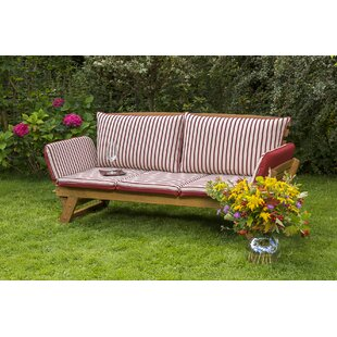 Garden bench made of solid wood by Lynton Garden