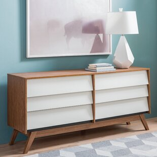 Mercury Row Ellenberger 6 Drawer Double Dresser