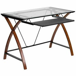 Ebern Designs Eastvale Glass Desk
