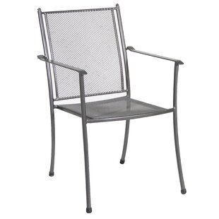 Rangel Stacking Patio Dining Chair (Set of 4)