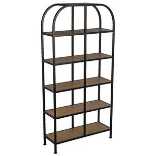 Savings Etagere Bookcase by Noir