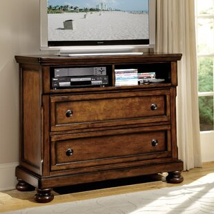 Three Posts Seville 2 Drawer Media Chest
