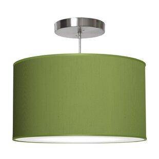 Modern green shade pendant lighting allmodern save aloadofball Choice Image