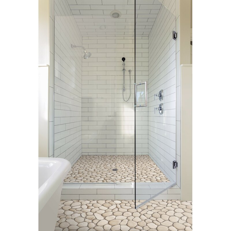 Random Sized Natural Stone Pebble Tile