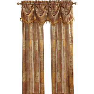 Madagascar Sheer Federal Single Curtain Valance