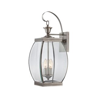 Vieux 3-Light Outdoor Wall Lantern