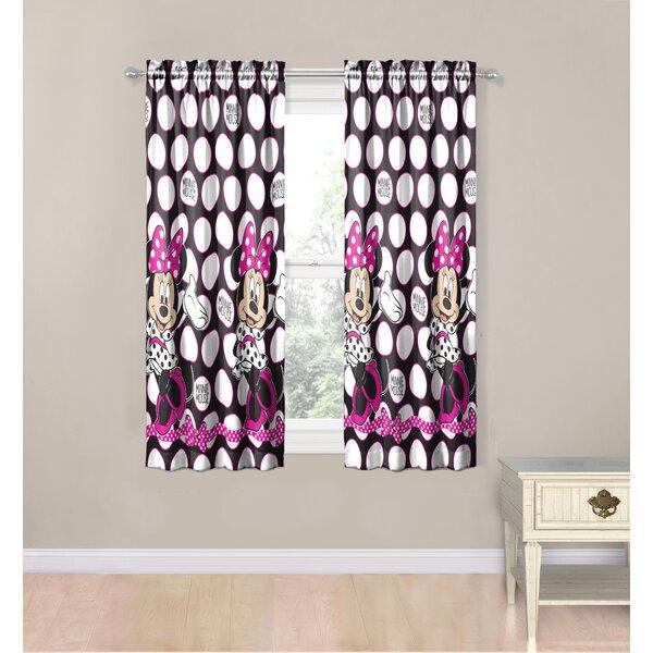 Minnie Mouse Curtains | Wayfair