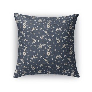 Tomberlin Floral Cotton Throw Pillow