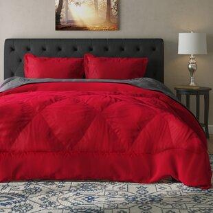 Daniella 3 Piece Reversible Comforter Set