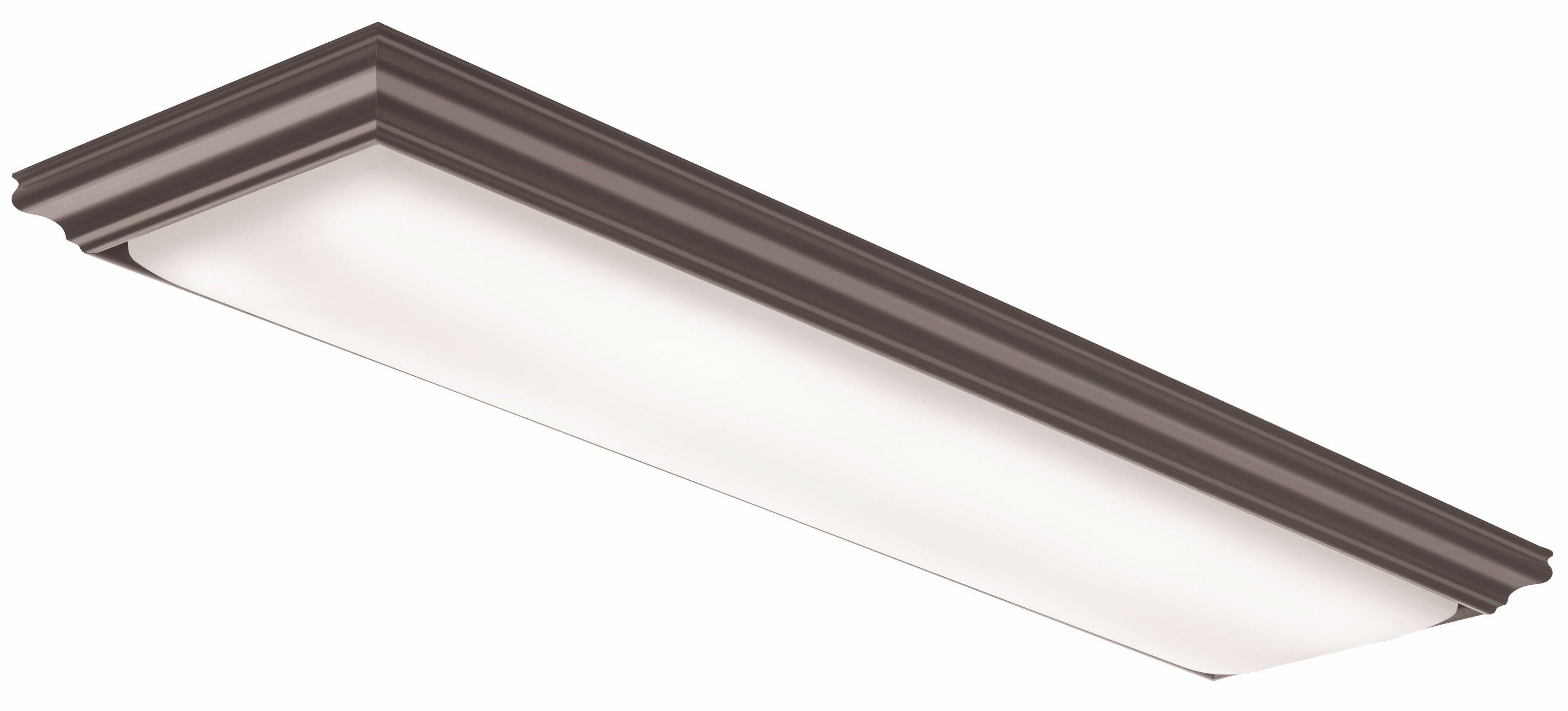 Image of: Lithonia Lighting 1 X 4 Led Flush Mount Reviews Wayfair