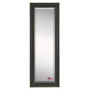 Wrought Studio Dalessio Vintage Black Floor/Wall Mirror