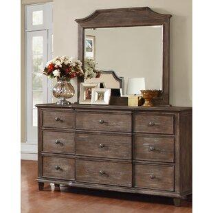 Darby Home Co Baston Dresser Drawer with Mirror
