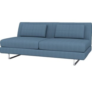 Hamlin Armless Loveseat by TrueModern Today Only Sale