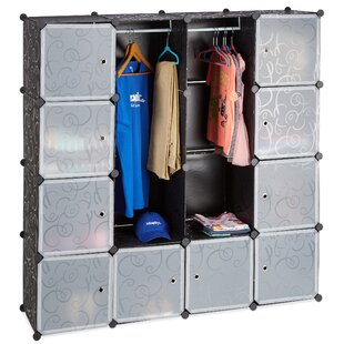 Mcfarren 145.5cm Wide Clothes Storage System By Rebrilliant