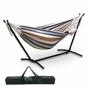 Freeport Park Gravette Double Hammock with Steel Stand
