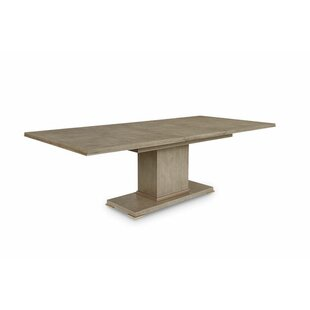 Everly Quinn Regine Solid Wood Dining Table