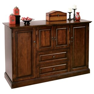 Brigman Console Home Bar In Americana Cherry