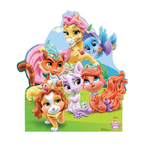 Advanced Graphics Disney Palace Pets Wisker Haven Life Size Cardboard Cutout Wayfair