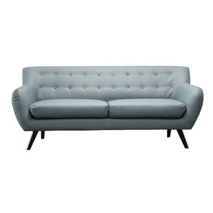 Shop Mid Century Modern Tufted Sofa by Madison Home USA