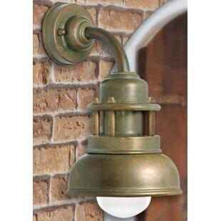 Lago1 Light Outdoor Wall Lantern By Moretti Luce