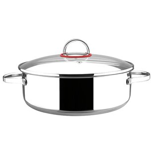 Nova Stainless Steel Stock Pot with Lid