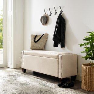 Monona Upholstered Storage Bench