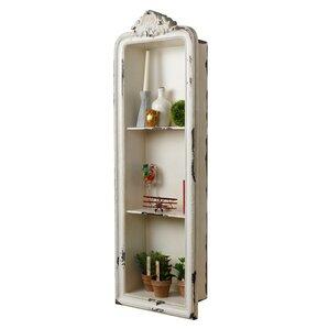 Albrecht Rustic Vertical Wall Shelf