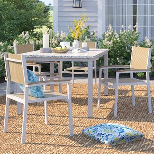 Caspian Patio Dining Chair (Set of 4)