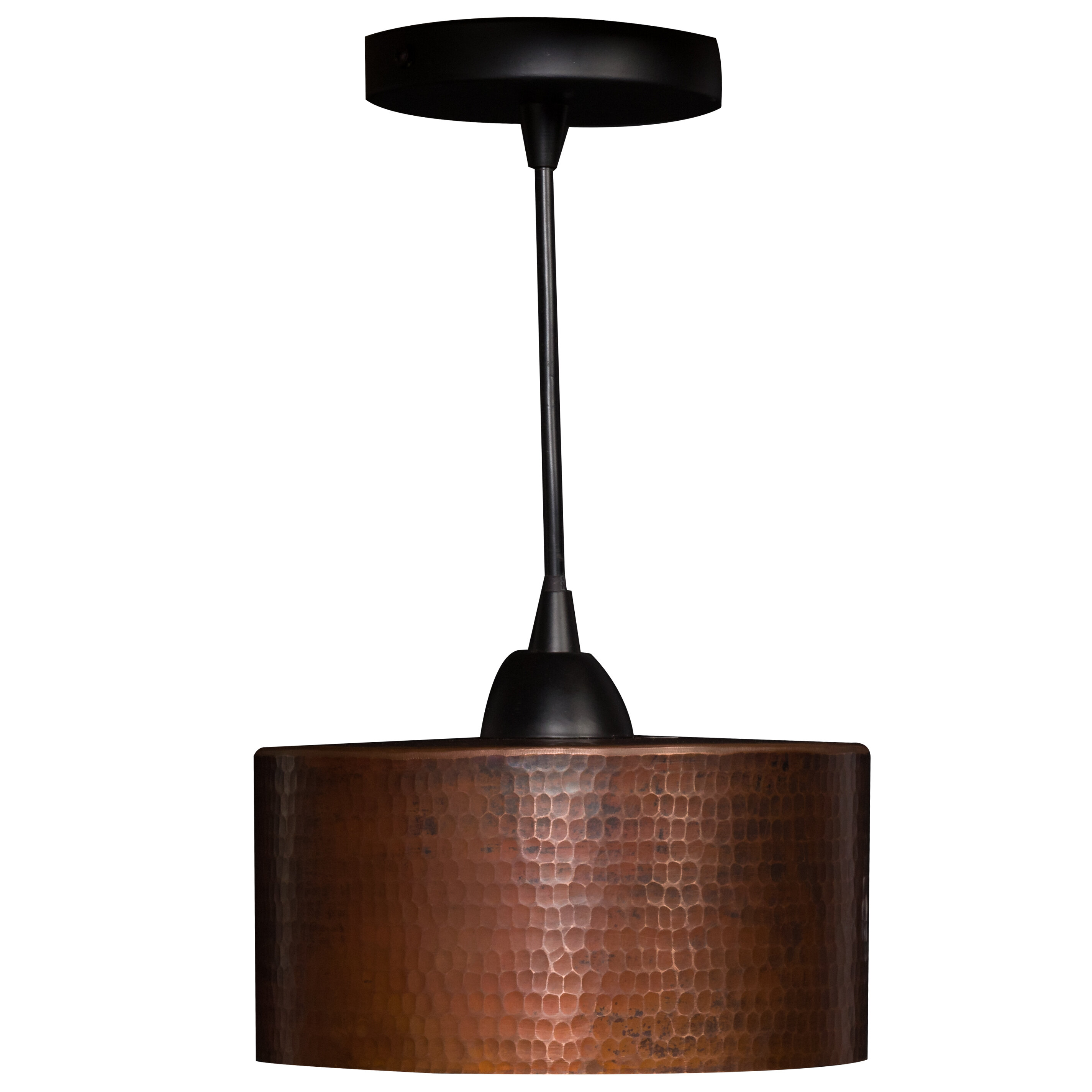 Bloomsbury Market Southard 1 Light Unique Statement Drum Pendant Wayfair