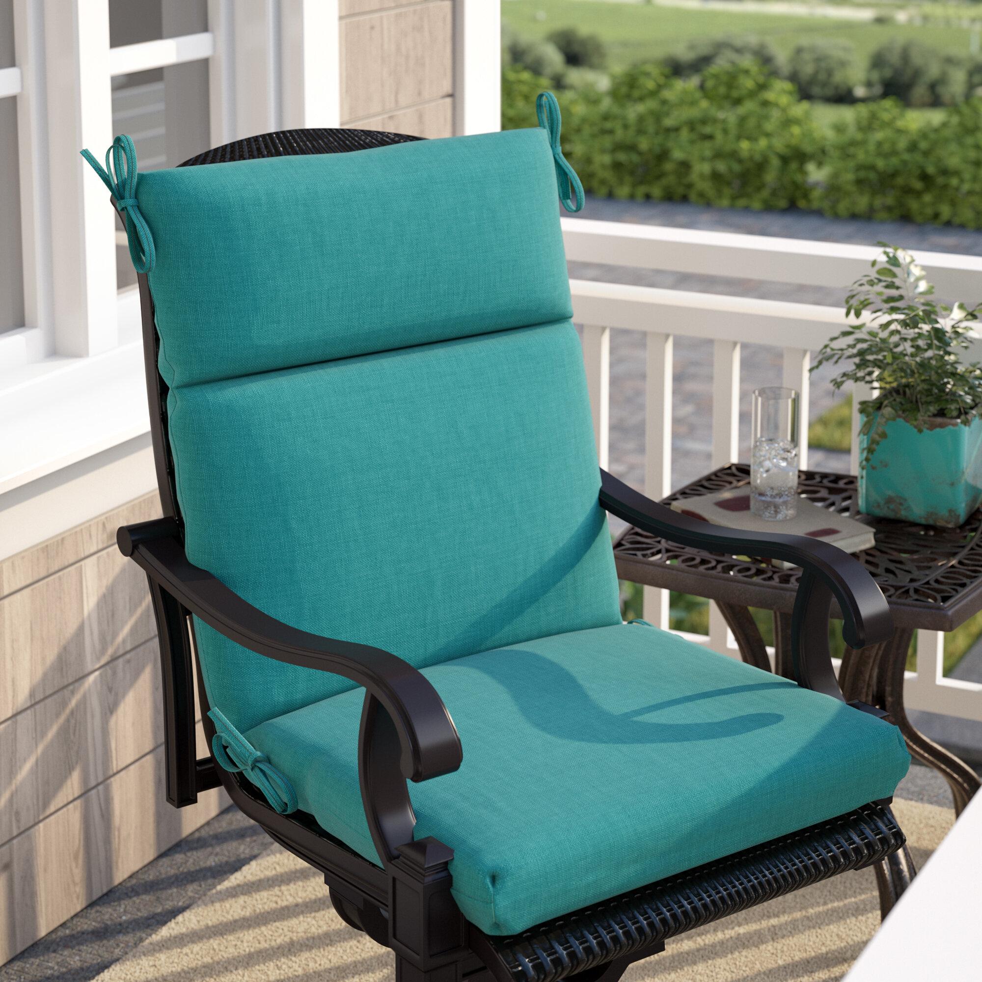 Lounge Chair Patio Furniture Cushions High Back Patio Chair Cushions You Ll Love In 2021 Wayfair
