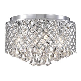 Louvenia 4-Lights Flush Mount