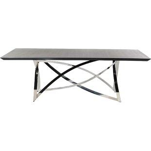 Orren Ellis Camron Steel Base Dining Table