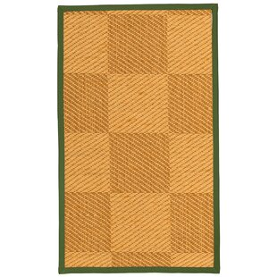 Luhrmann Handwoven Flatweave Beige/Brown Area Rug by August Grove