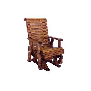 Loon Peak Pottorff High Back Glider Chair
