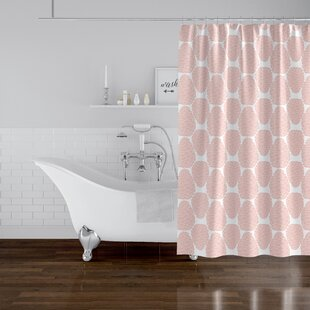 Jad Pinecone Shower Curtain
