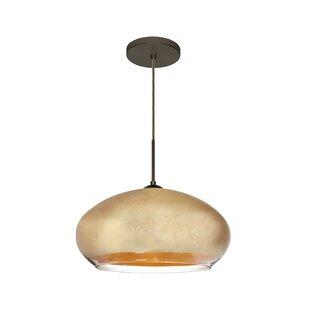 Brio 1-Light Globe Pendant by Besa Lighting