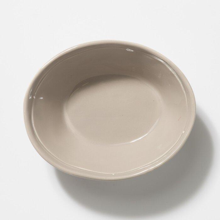 Set of 4 Vietri Fresh Gray Pasta Bowl