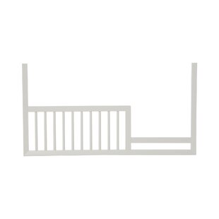 Look for Mid-Century Toddler Rail in French White ByDwellStudio