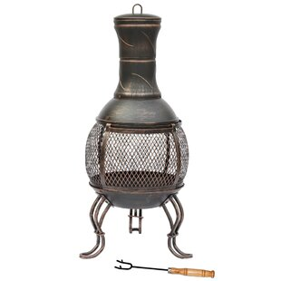 Steel Charcoal Chiminea By Sol 72 Outdoor