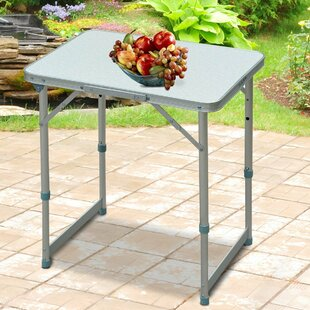 Kinzer Folding Aluminium Camping Table By Sol 72 Outdoor