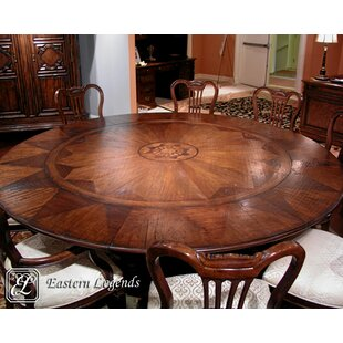 Monte Bianca Extendable Solid Wood Dining Table by Eastern Legends
